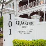 Quarters Hotel | Street Entrance